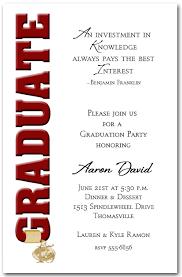 graduate invites incredible college graduation party invitation