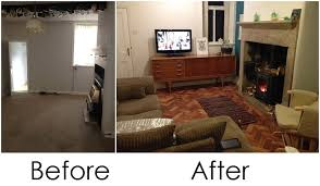 living room renovation before and after 250 year old cottage renovation the living room