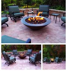 Paver Patios With Fire Pit by Paver Patio Design Installation By Chaparral Santa Maria Lompoc