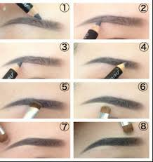 How To Fill Eyebrows Tag How To Fill In Eyebrows With Pencil Only Drawing Pencil
