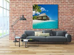 tahiti turquoise beach wall murals posters mct1094en tahiti turquoise beach tropical beach wall murals posters