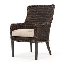 ebel geneva outdoor dining arm chair chestnut