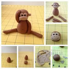 best 25 fondant monkey ideas on pinterest monkey cupcakes