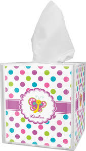 polka dot boxes polka dot butterfly tissue box cover personalized potty
