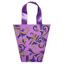 purple gift bags papyrus purple florishing specialty gift bag medium target