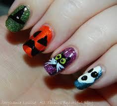my totally random u0026 fun easy halloween nail art