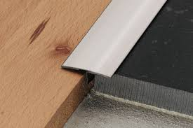 Laminate Floor To Tile Transition Schluter Reno T Same Height Transitions For Floors Profiles