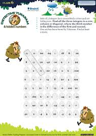 printable numbers math olympiad worksheets for kids of grade 6