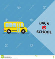 yellow transportation side view back to school light from