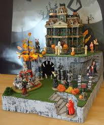 Department 56 Halloween Decorations by 22 Best Halloween Villages Images On Pinterest Halloween Village