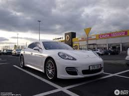 chrome porsche panamera porsche panamera turbo 12 november 2017 autogespot