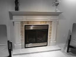 fireplace mantel shelf modern home improvement ideas