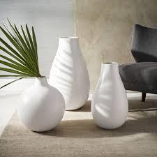 white vase oversized white ceramic vases west elm au