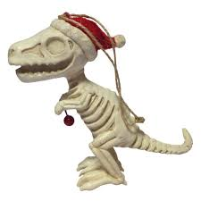 amnh shop t rex dinosaur skeleton ornament