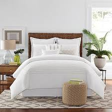 Simple White Bed Frame Real Simple Boden Comforter Set In White Bed Bath U0026 Beyond