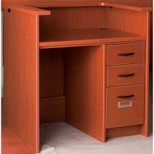 Napoli Reception Desk Reception Desks U0026 Suites You U0027ll Love Wayfair