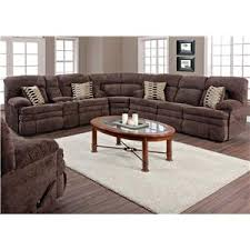 Homestretch Reclining Sofa Homestretch 103 Chocolate Series Reclining Sofa With