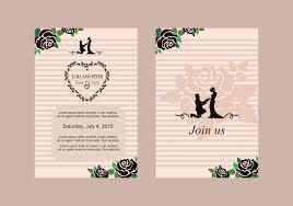 wedding invitations vector wedding invite vector free vector stock