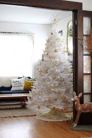 Christmas Decorations White Tree white christmas tree with diy himmeli ornaments smile and wave