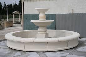 fontaine en pierre naturelle fontaine circulaire marignane en pierre d u0027estaillades réalisations