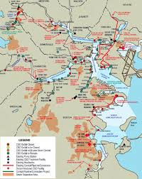 Map Of Boston Harbor by Mwra Combined Sewer Overflow Control Program