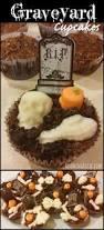 graveyard brownie halloween cupcakes roaming rosie