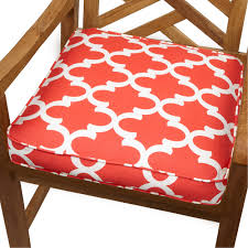 Jaclyn Smith Patio Cushions by Decor Appealing Outdoor Patio Seat Cushions In Bird Floral Yellow