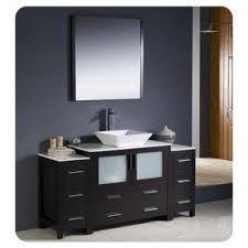 vanity base for vessel sink foter