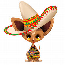 cartoon sombrero chihuahua puppy dog cartoon from mexico by bluedarkat graphicriver