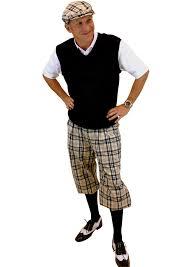 plaid sweater s golf knickers khaki turnberry plaid sweater