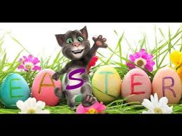 talking easter eggs my talking tom happy easter day poem easter for kids