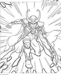 Fresh Coloriage Thor Avengers  Doyanqqme