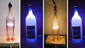 lights made out of wine bottles diy ls made from glass bottles led news