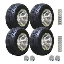 Off Road Wheel And Tire Packages 10 Inch Golf Cart Wheel And Tires E Z Go