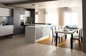 cuisine taupe et bois cuisine taupe et blanc awesome design cuisine bois clair et blanc
