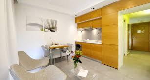 Home Interior Design For Small Apartments Apartment Cheerful Interior Design With Parquet Flooring Studio