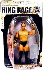 Blind Rage Wrestler Wwe Wrestling Ruthless Aggression Series 38 5 Ring Rage Festus