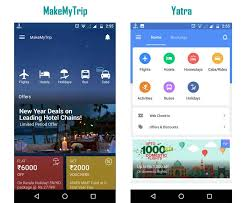 my android apps make my trip vs yatra android apps top android tips