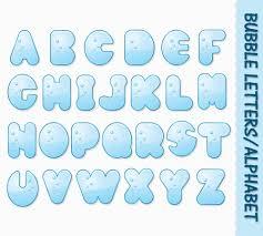 bubble letters alphabet clip art graphics water clipart abc