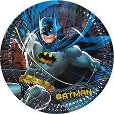 batman party supplies batman party supplies 8 gotham paper dinner plates party supplies