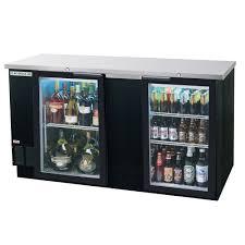 beverage cooler with glass door beverage air bb68g 1 b led 69