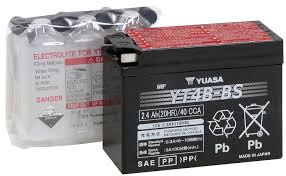 amazon com yuasa yt4b bs battery automotive