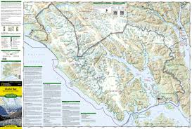 Alaska Topo Maps by Glacier Bay National Park And Preserve National Geographic Trails