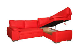 Red Corner Sofa by Corner Sofa Bed