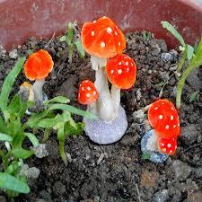 aliexpress buy mini toadstool garden ornaments