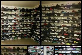 colin kaepernick has huge sneaker collection in garage turned into