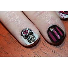 sugar skull nail art day of the dead decals assortment 3 featured in rachael ray magazine october 2014 1 1000x1000 jpg