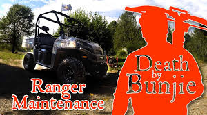 how to change the oil and transmission fluids on a polaris ranger