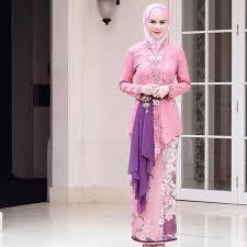 model baju kebaya muslim tips mengenakan kebaya muslim agar terlihat casual diary id