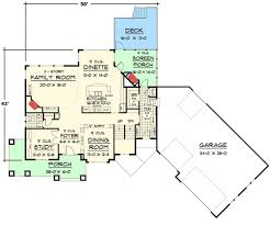 craftsman floorplans luxurious craftsman home plan 14419rk architectural designs